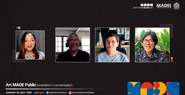 Art MADE Public: Awardees in Conversation