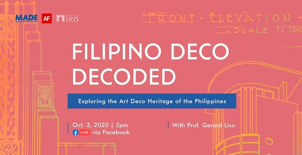Filipino Deco Decoded